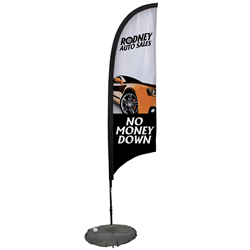 outdoor promotional banners