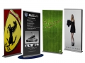 retractable banner stand examples